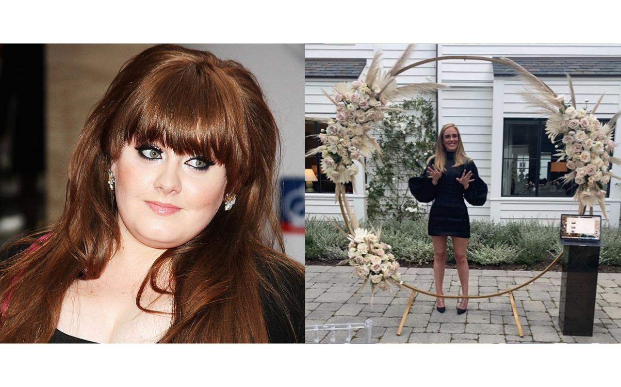 Adele antes e depois: Cantora posta foto e fãs comentam 'Está magra'