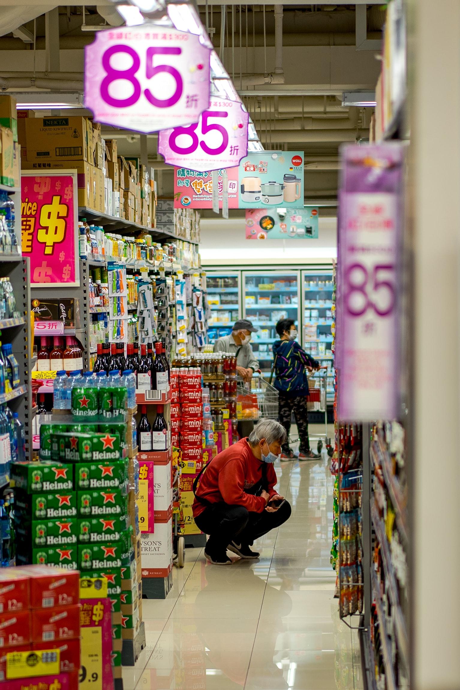 cuidados ao fazer compras no mercado