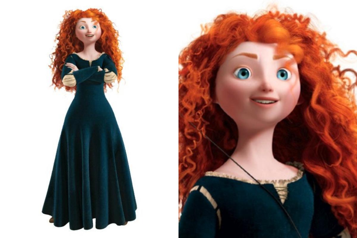 A protagonista de Valente se diferencia de todas as princesas da Disney.