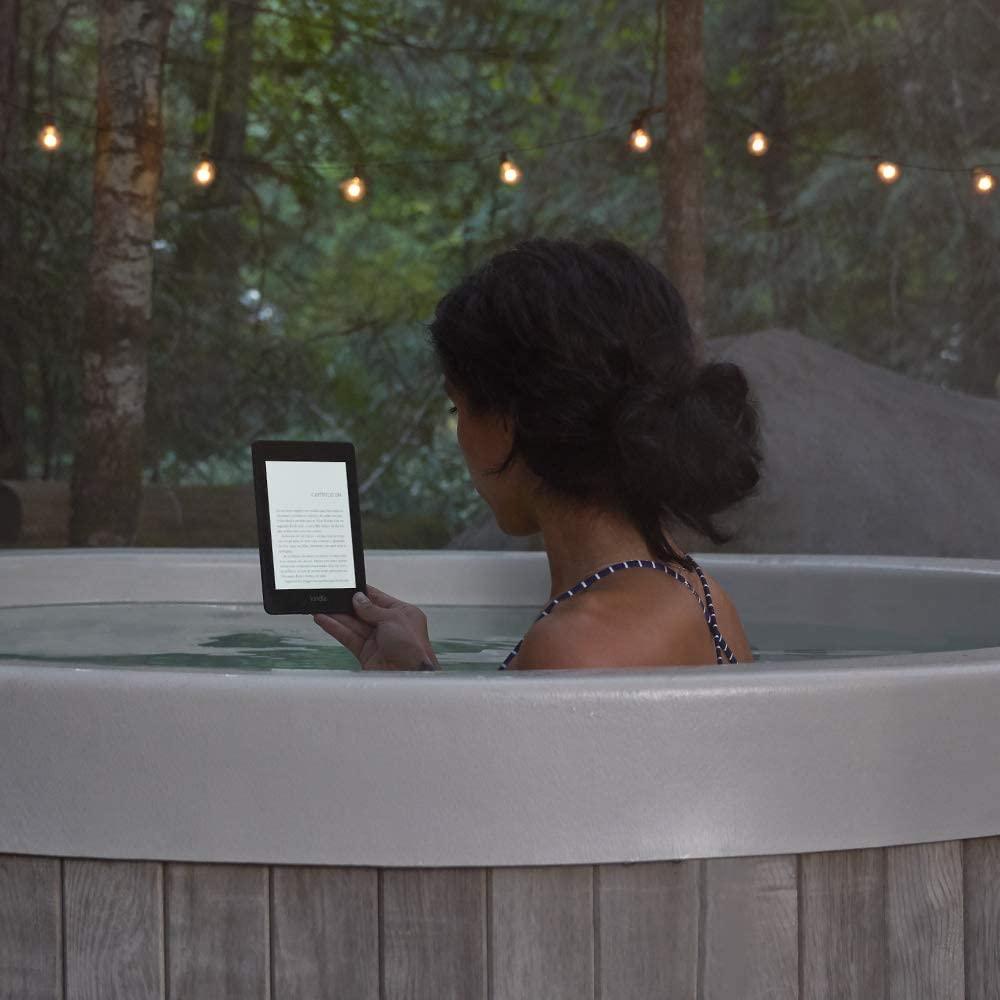 Kindle Paperwhite é a prova d'água