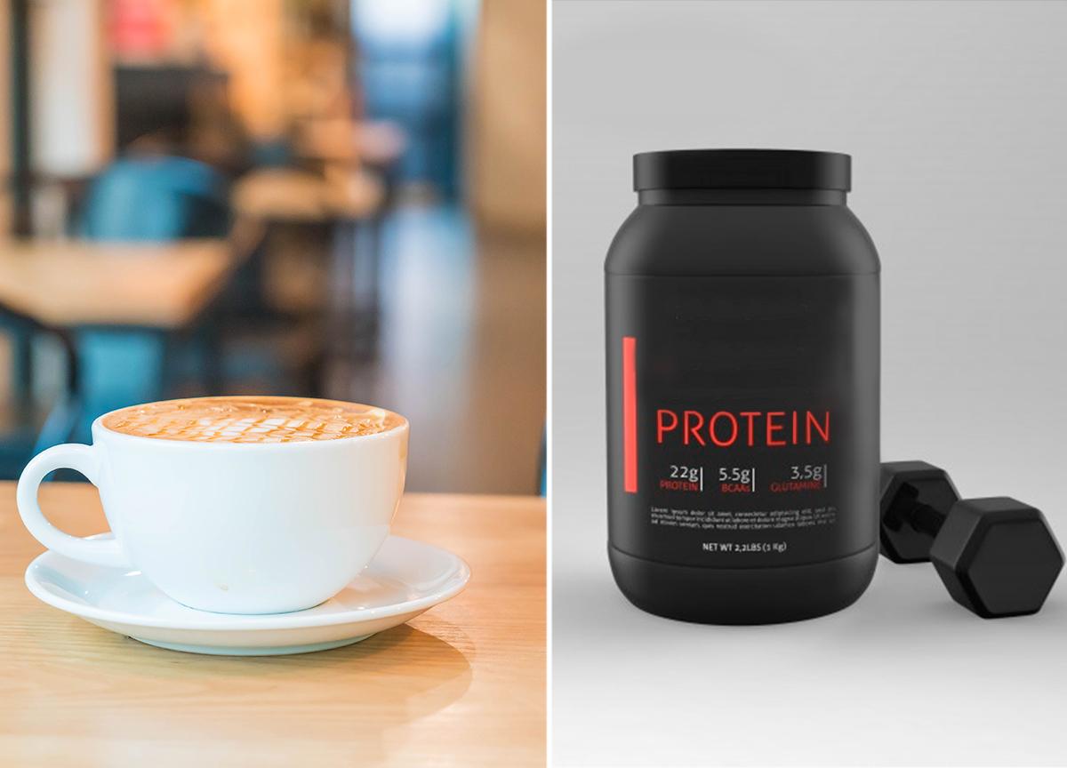 Cappuccino proteico: aprenda a receita e turbine seu café com proteína