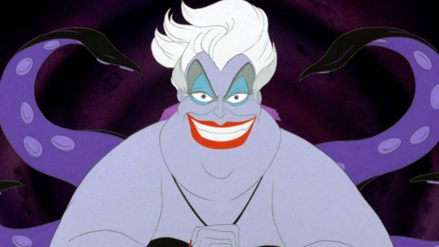 Úrsula é a vilã de A Pequena Sereia e está na franquia Vilões da Disney.