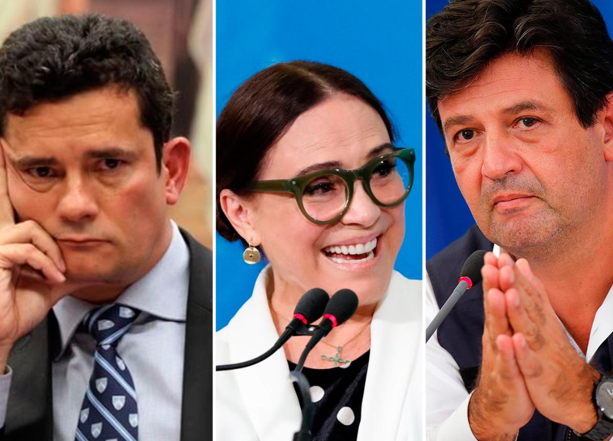 ministros demitidos do governo Bolsonaro