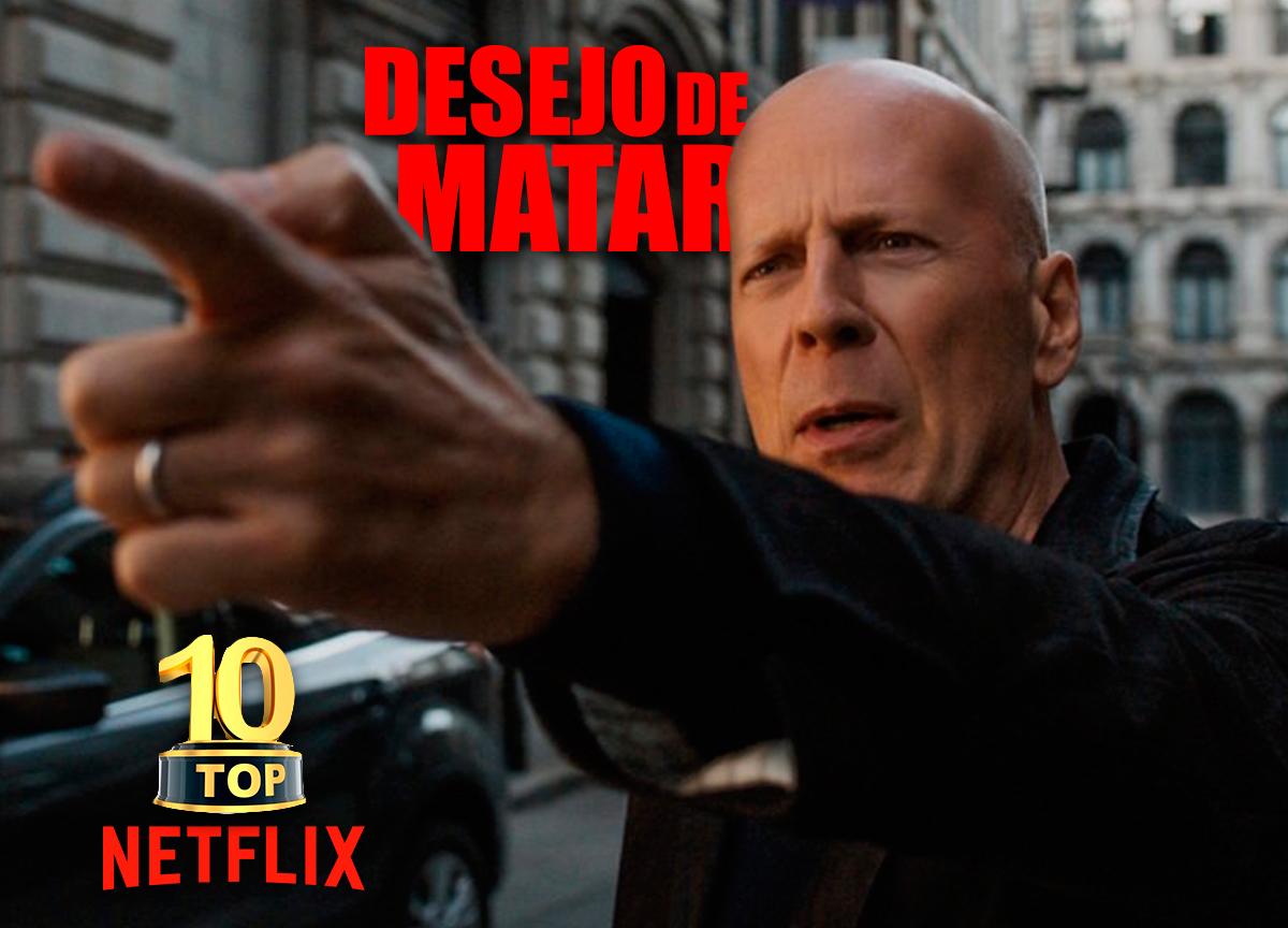 'Desejo de Matar': Filme proibido para menores é TOP 1 da Netflix