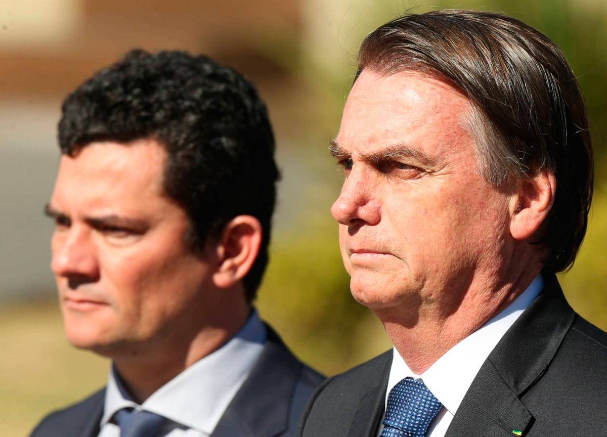 Acusações de Moro contra Bolsonaro