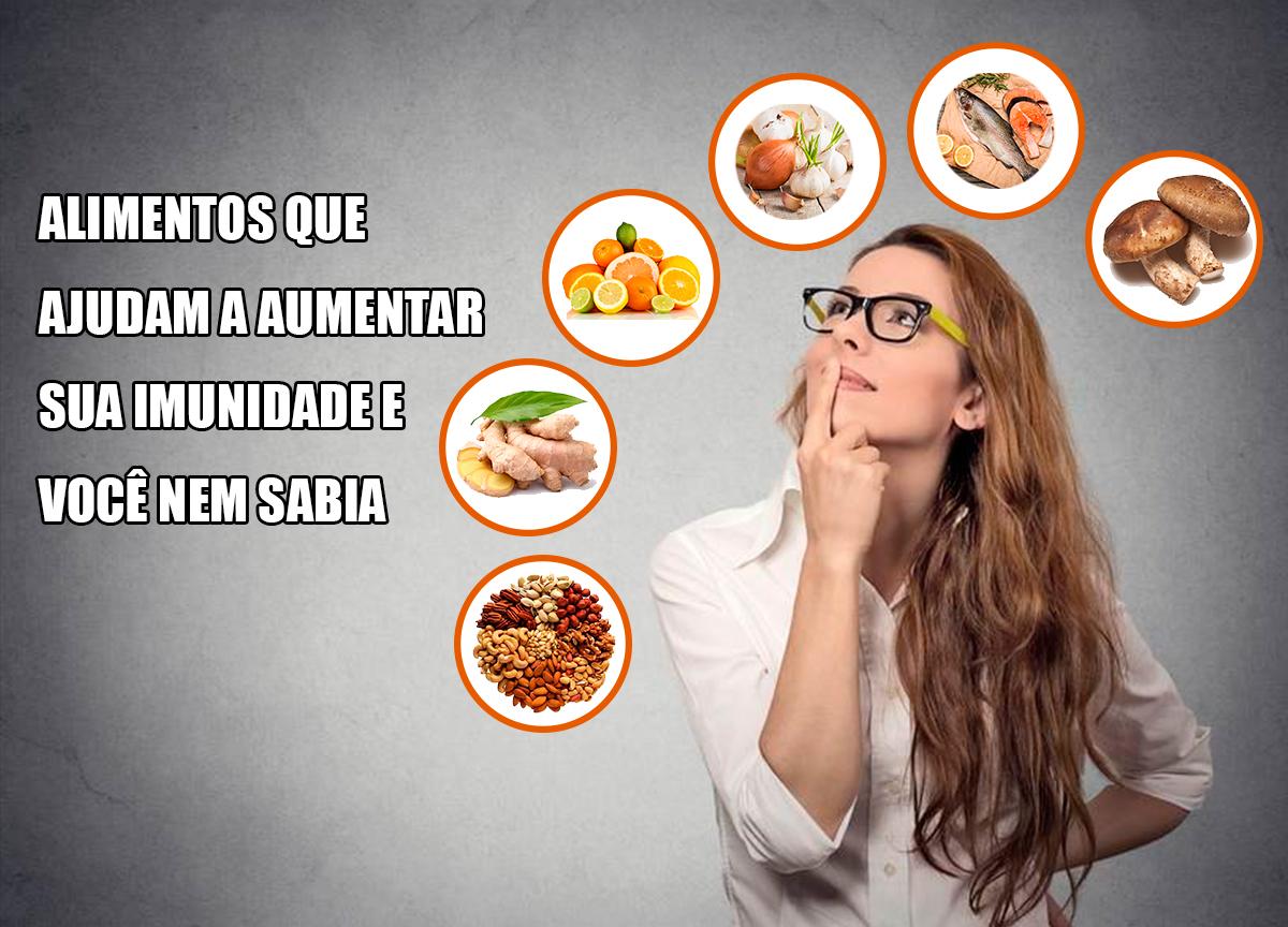 alimentos que aumentam a imunidade e você nem sabia