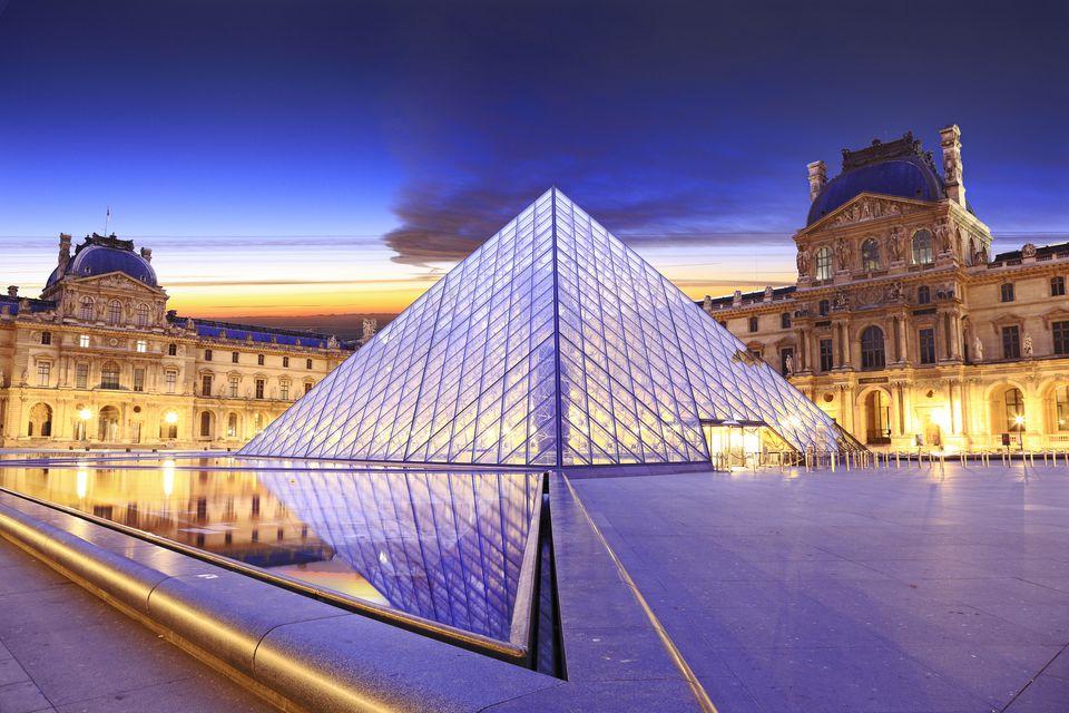 visitar Louvre sem sair de casa