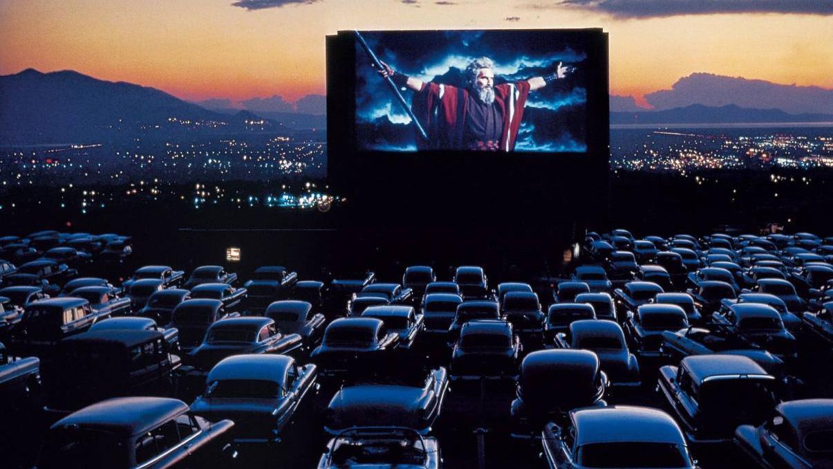 Cinema drive-in no Brasil