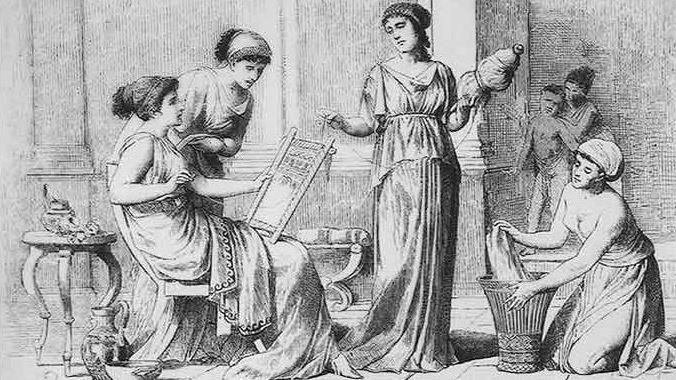 Mulheres na Grécia antiga