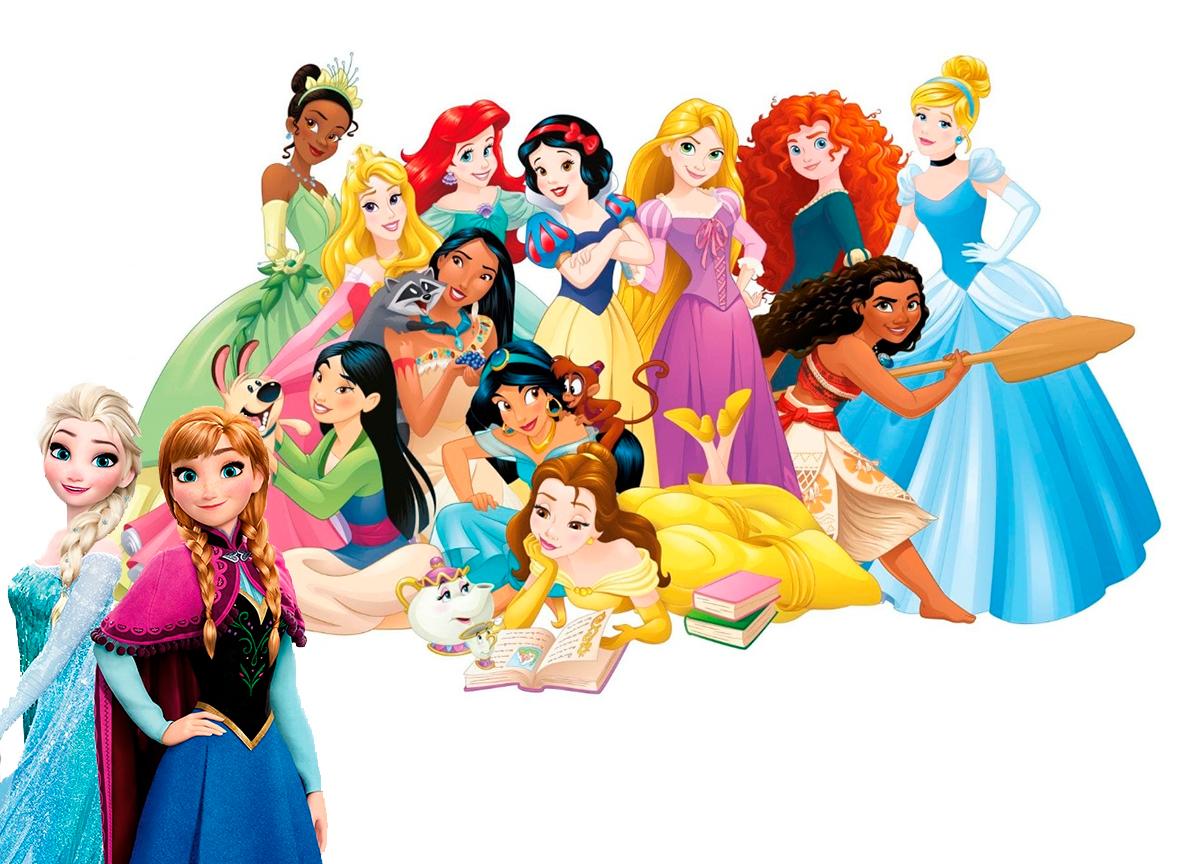 quantos anos tem as princesas da Disney