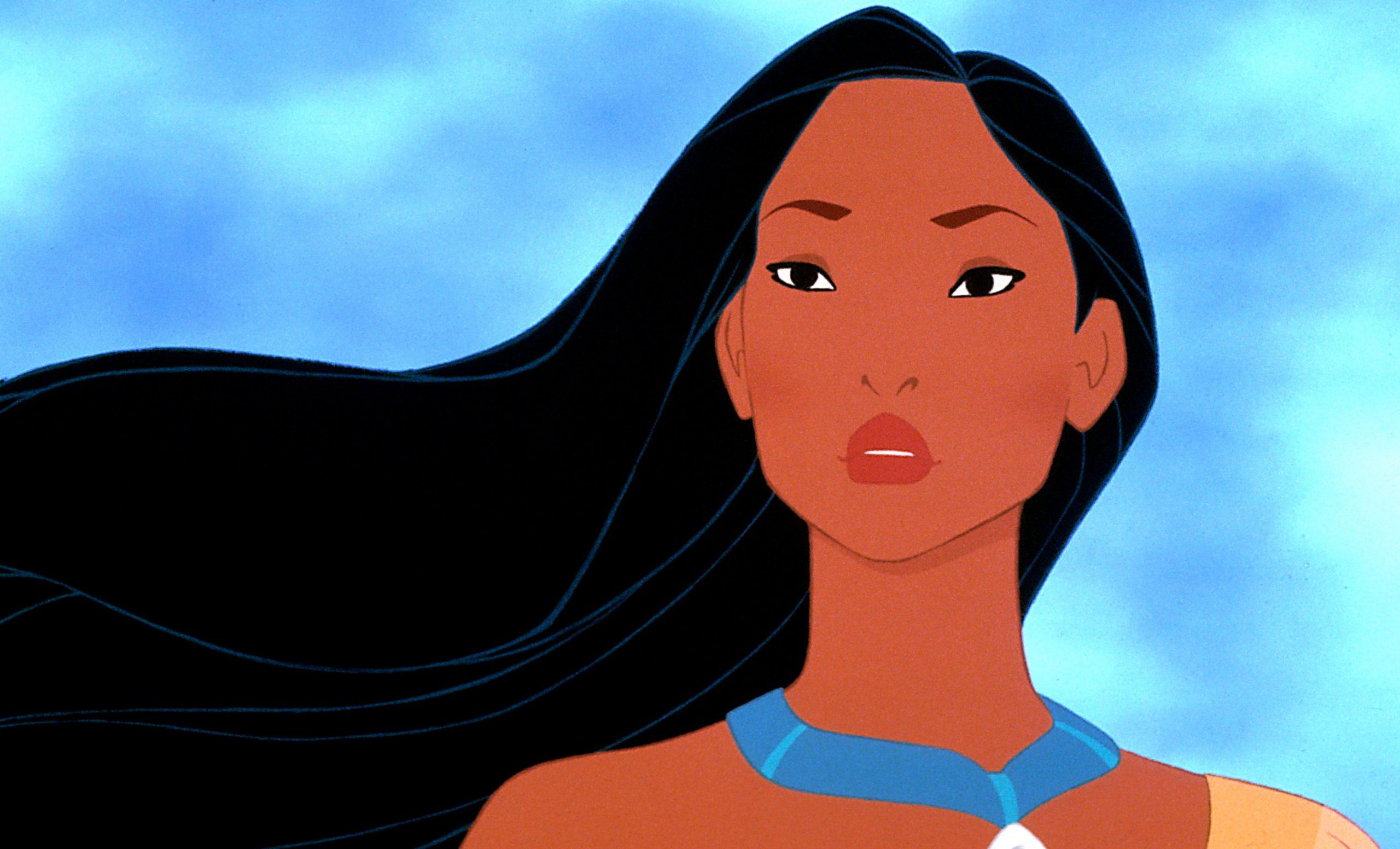 Pocahontas é a primeira princesa da Disney na América do Norte.