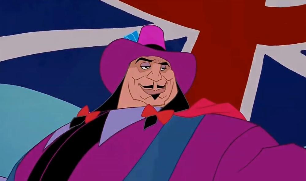 Governador Ratcliffe é baseado em John Ratcliffe e outros personagens históricos.