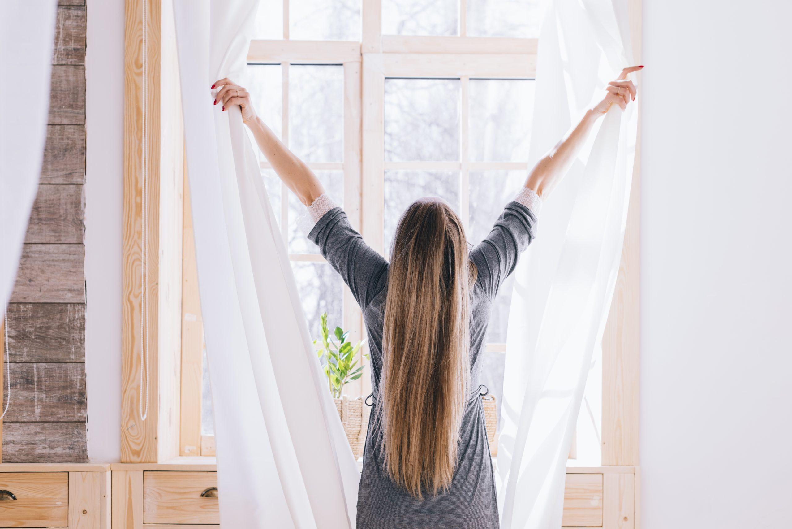 Abra as janelas esporadicamente