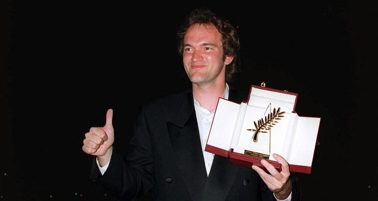 Tarantino com Palma de Ouro