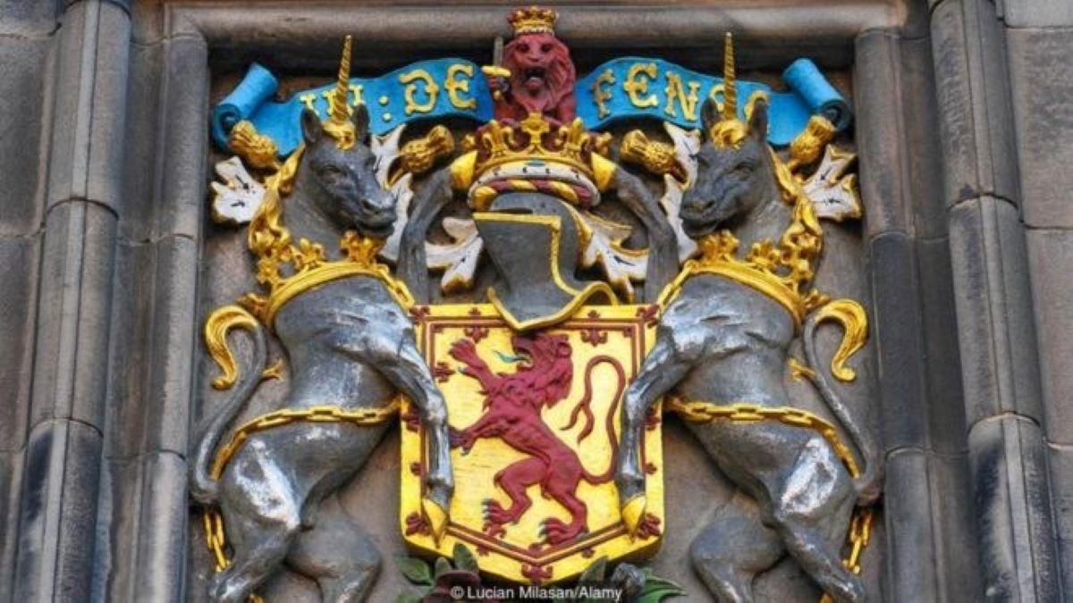 unicórno é símbolo da Escócia
