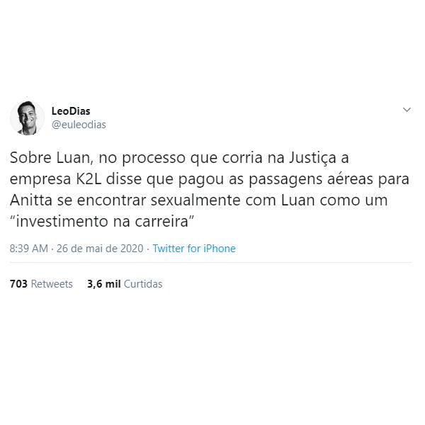 Anitta e Luan Santana