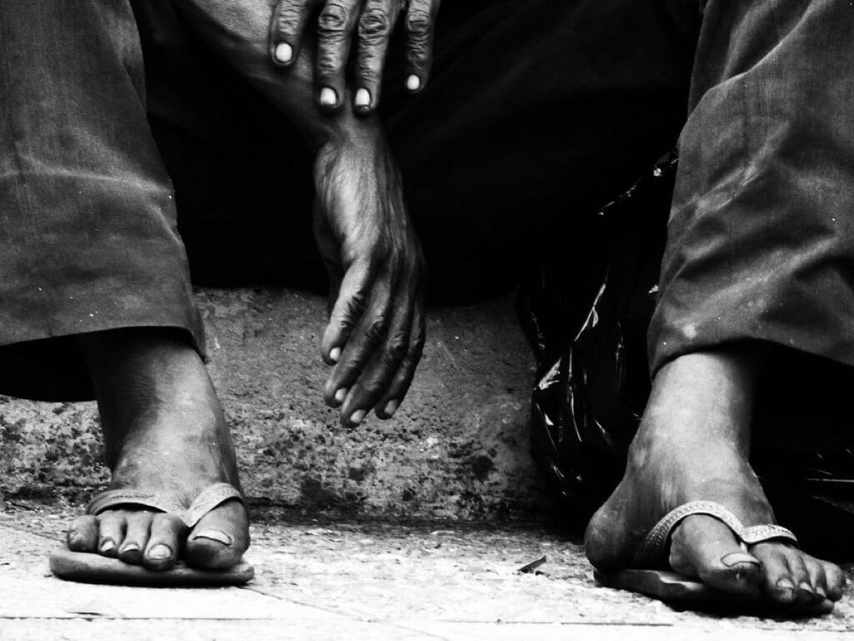 Moradores de rua em meio à pandemia