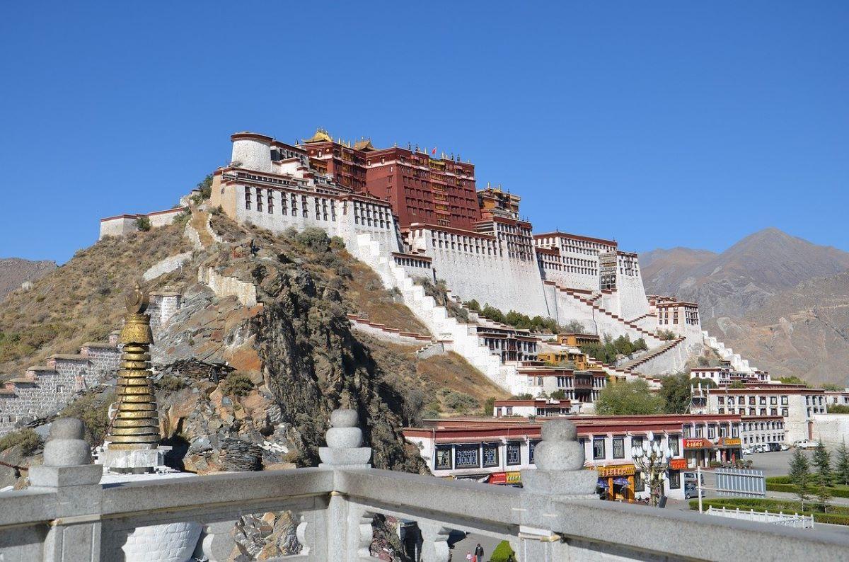 Palácio de Potala, no Tibet