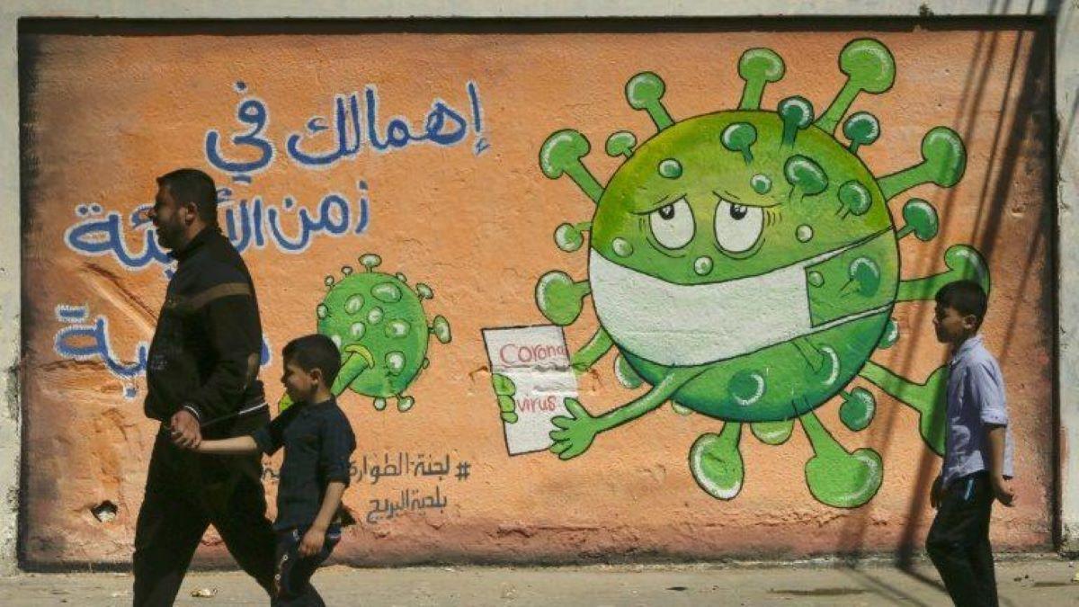 coronavírus na Faixa de Gaza
