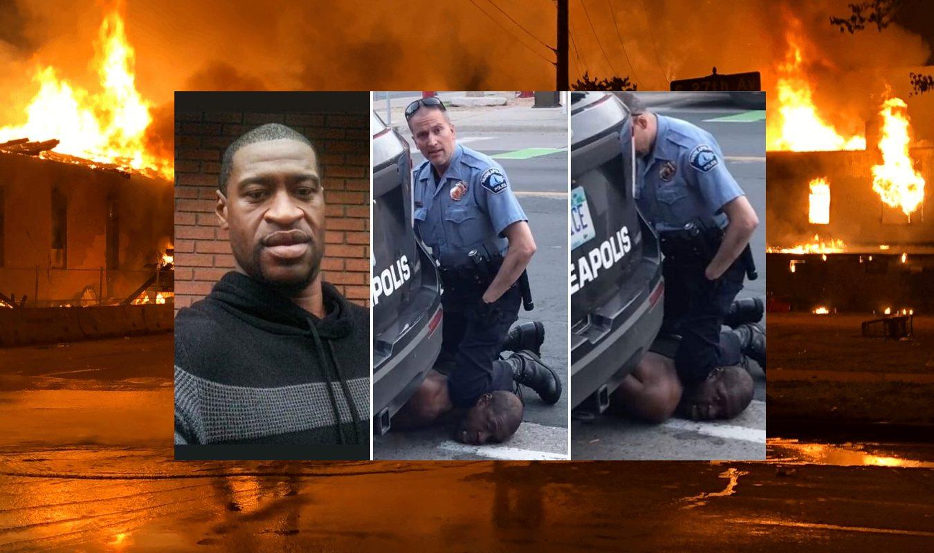 George Floyd, homem negro morto por um policial