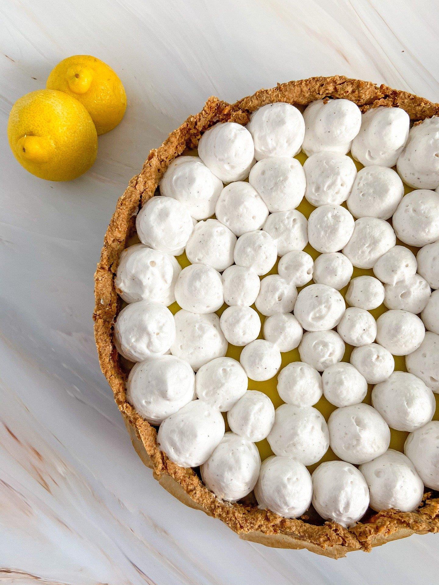 Torta leve de limão