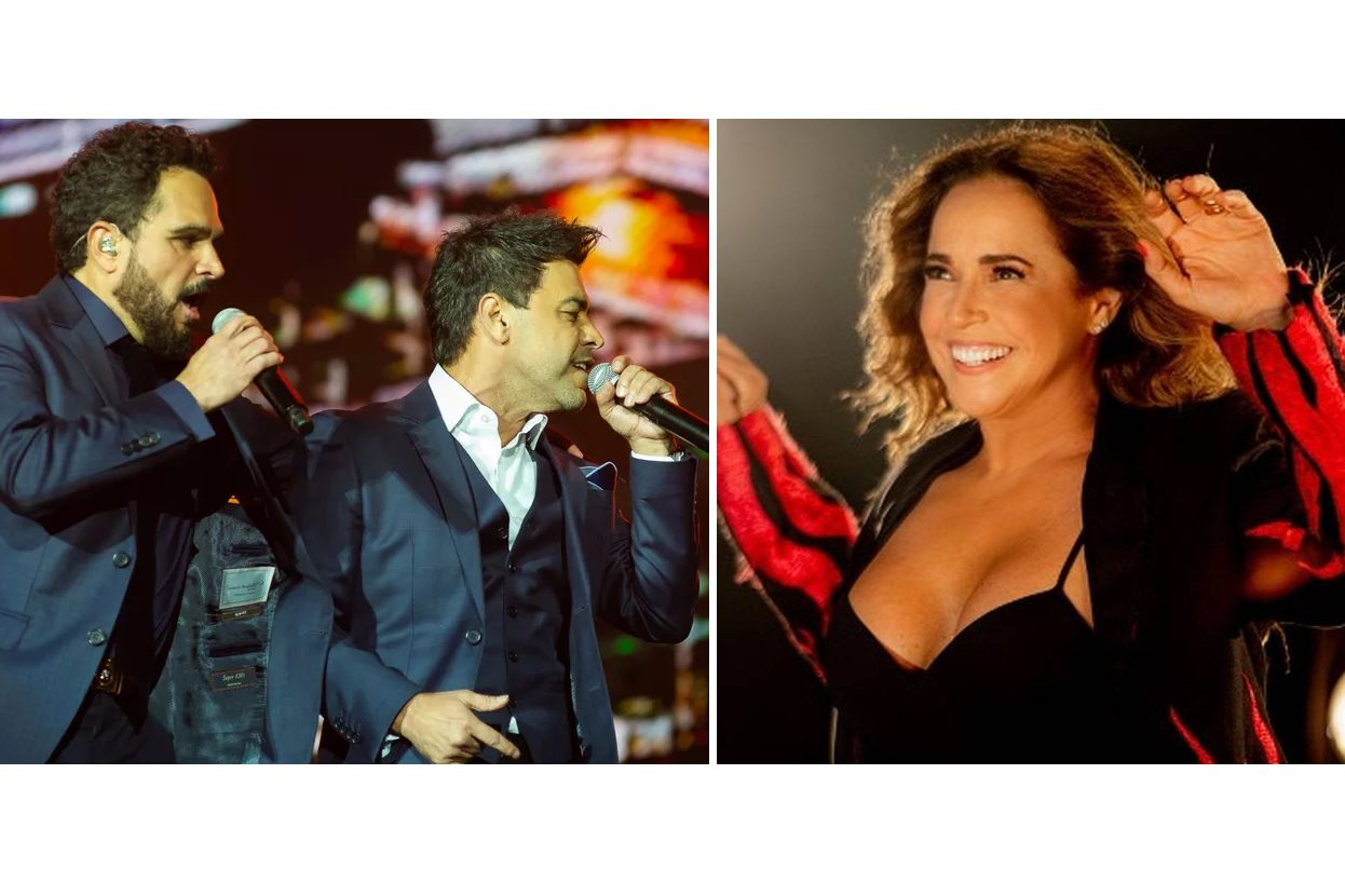 Lives de Hoje 29/5 – Sexta: Daniela Mercury e Zezé Di Camargo e Luciano