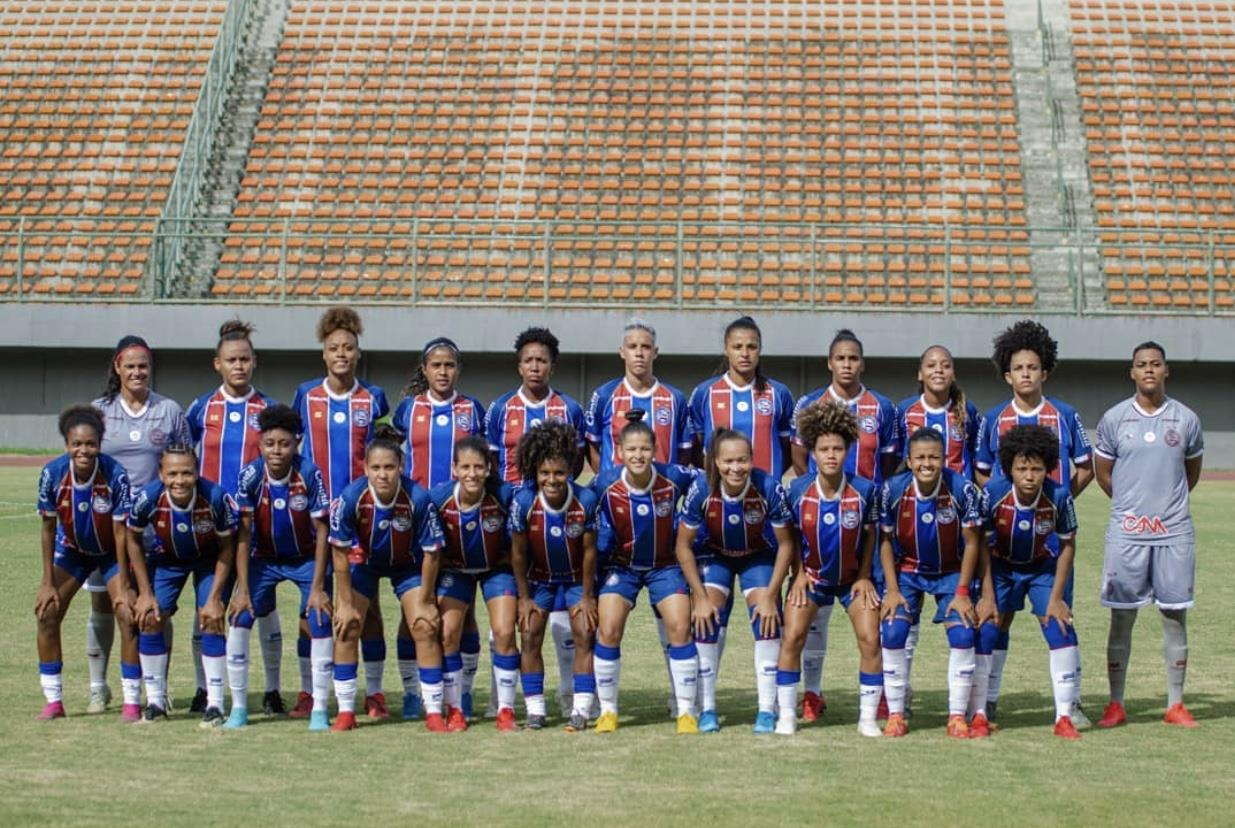 equipe feminina do Bahia