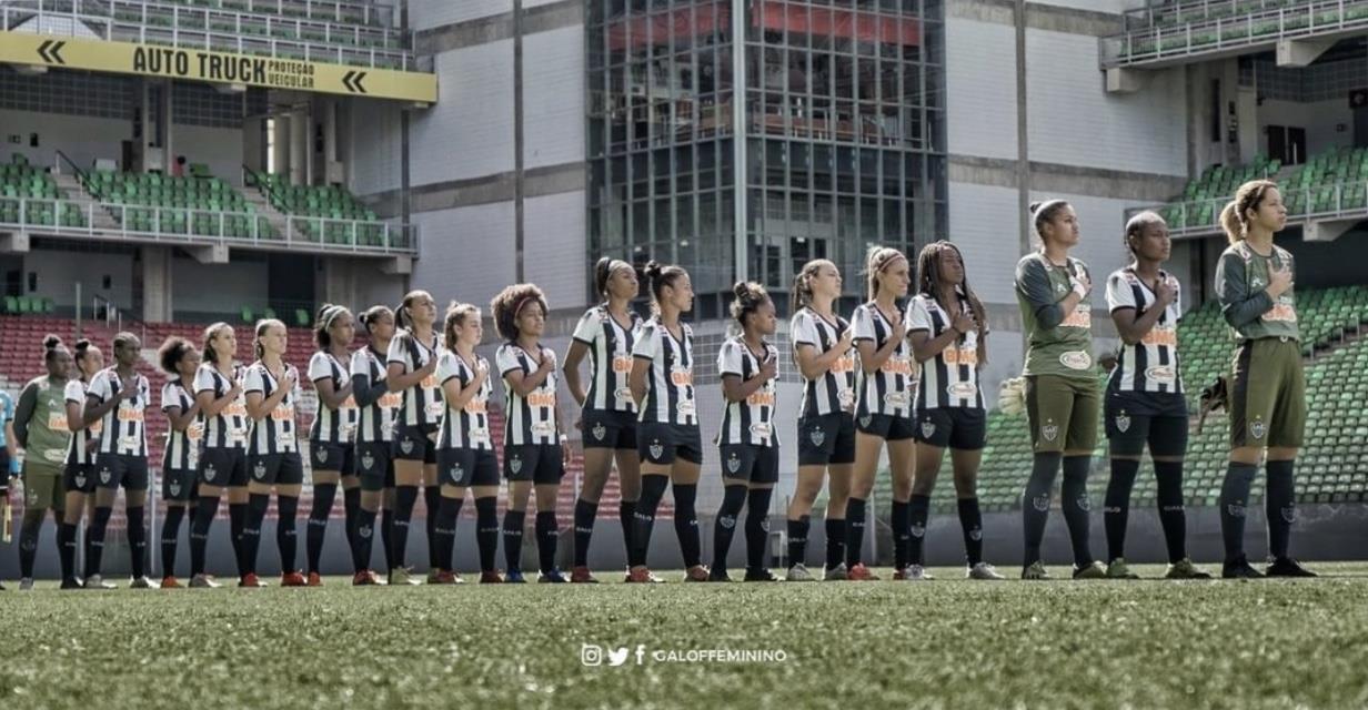 Equipe feminina do Atlético