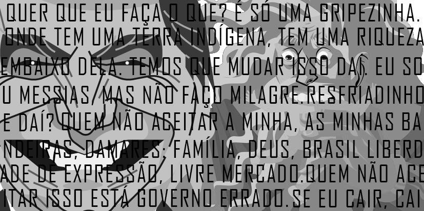 A relação entre Cronos e a figura política de Jair Bolsonaro