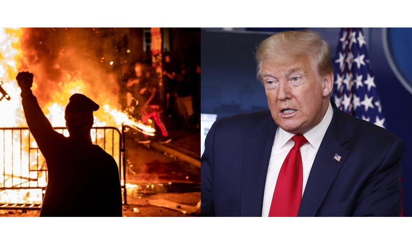 Trump se protege em Bunker na Casa Branca após protestos nos EUA