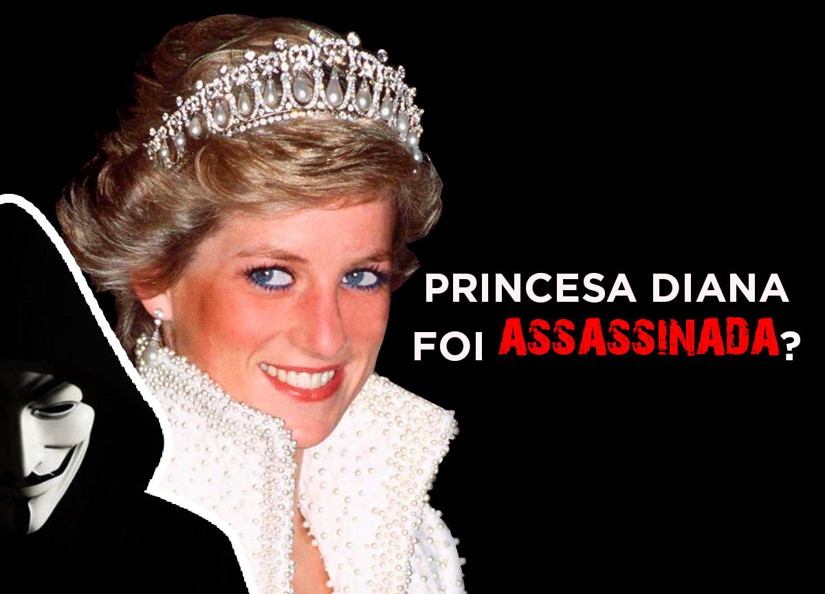 Princesa Diana foi assassinada? Anonymous sugere teoria da conspiração