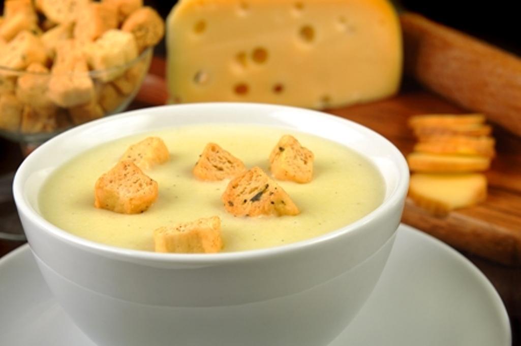 Sopa de 3 queijos
