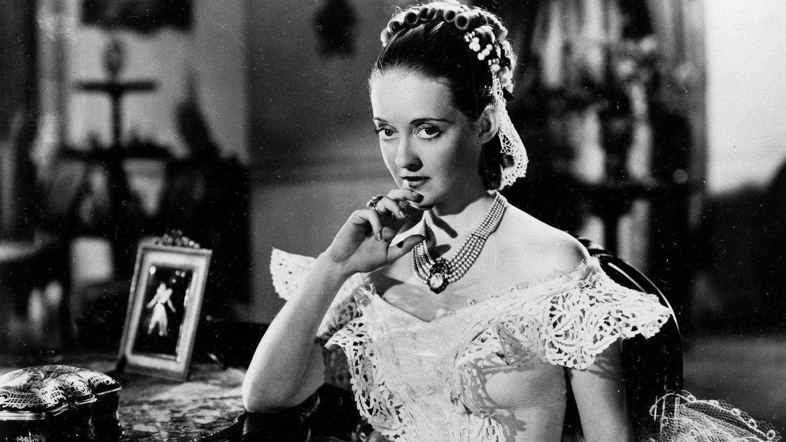 """Bette Davis no filme """"Jezebel"""""""
