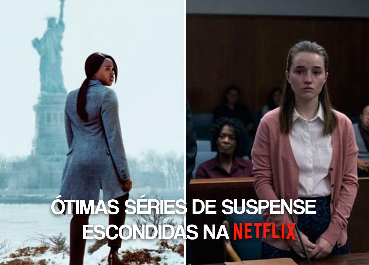 ótimas séries de suspense escondidas na Netflix