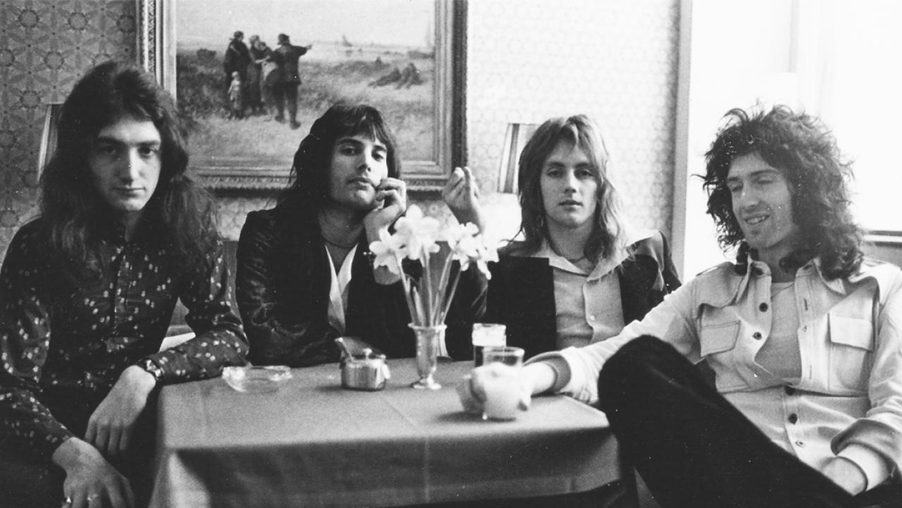 Queen está entre as bandas inglesas de destaque.