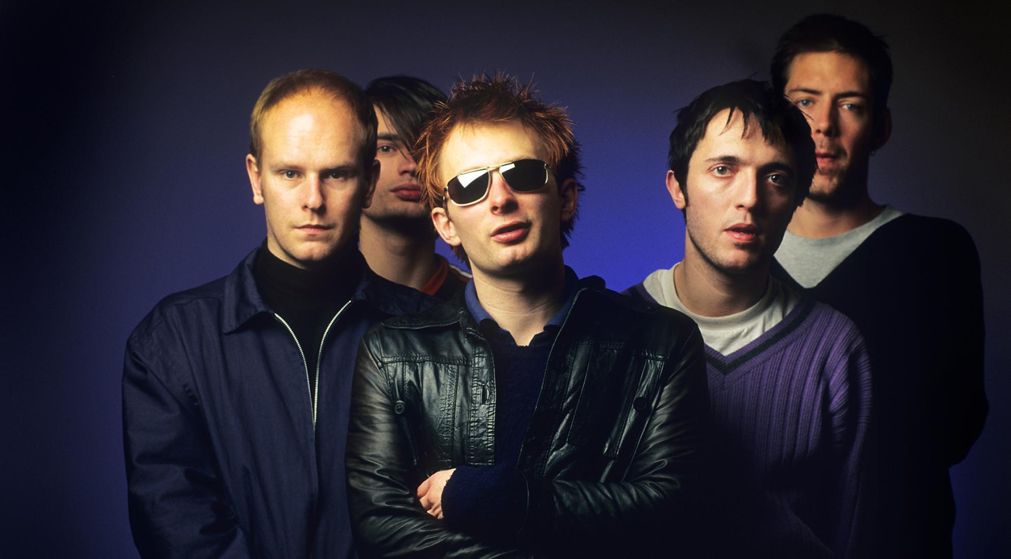 Radiohead, dona do sucesso Creep, é uma das bandas inglesas de maior sucesso de sua época.