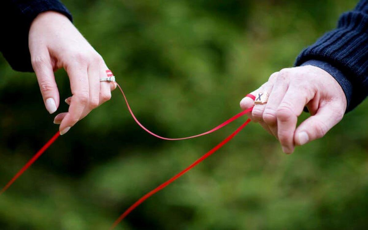 Lenda do fio vermelho