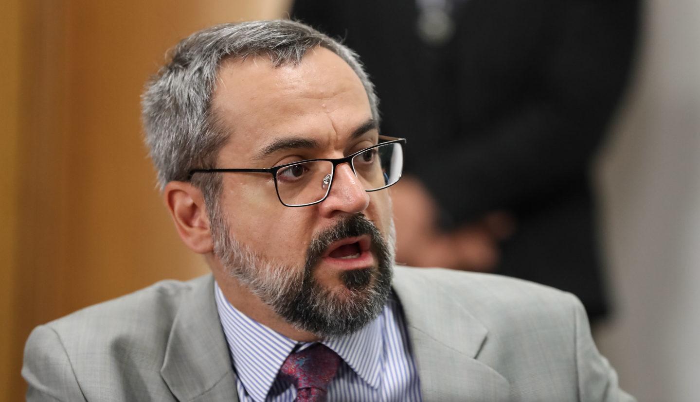demissão Abraham Weintraub
