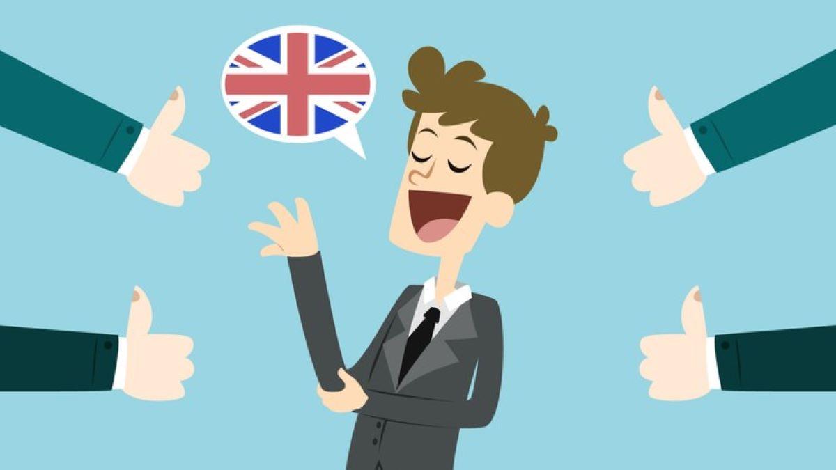 como falar em inglês