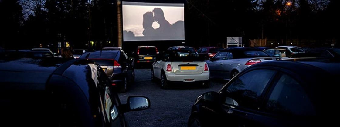Cinema drive-in em SP