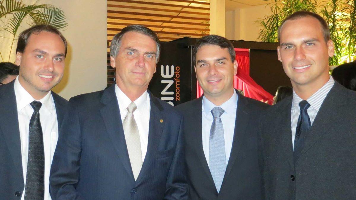 investigações contra Bolsonaros.