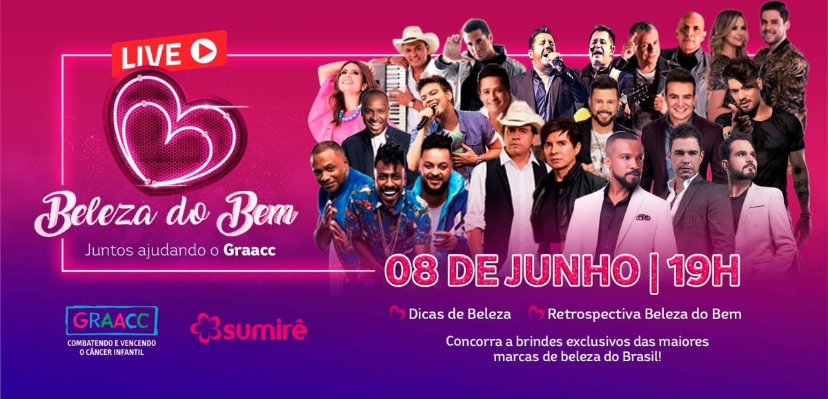 Beleza do Bem: evento que reúne grandes marcas de beleza acontece semana que vem em São Paulo
