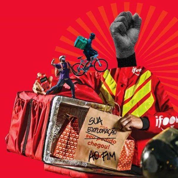 greve dos entregadores de aplicativos