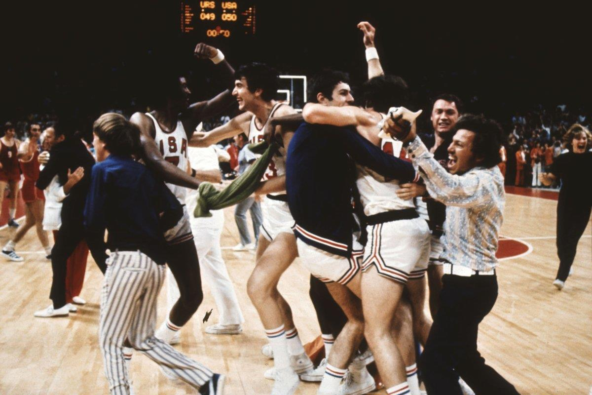 final do basquete masculino nas Olimpíadas de 1972
