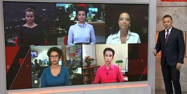Jornalistas negros da Rede Globo