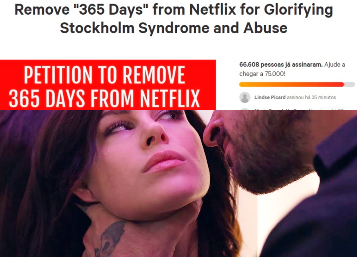 netflix remover 365 days do catálogo
