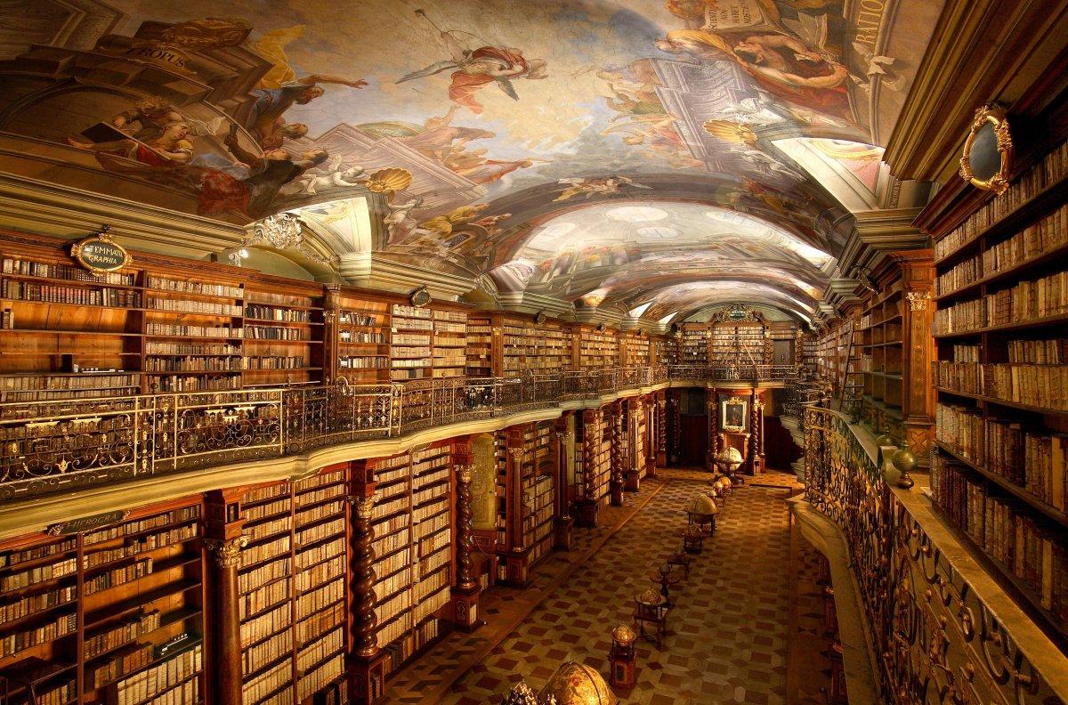 Confira quais são as bibliotecas mais impressionantes do mundo