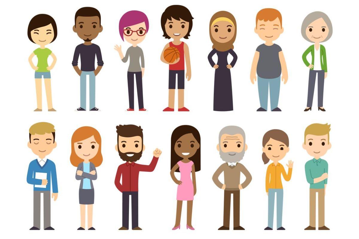Qual a importância da diversidade de personagens em obras literárias?