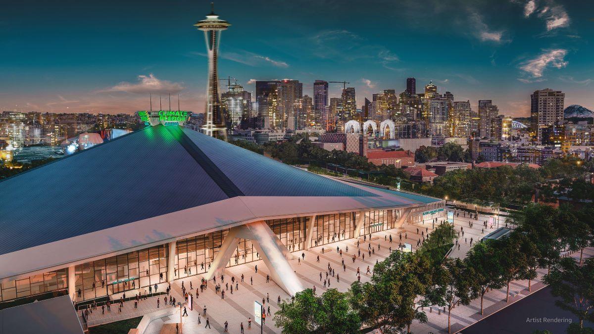 Seattle terá a primeira arena multiuso 100% livre de carbono do mundo