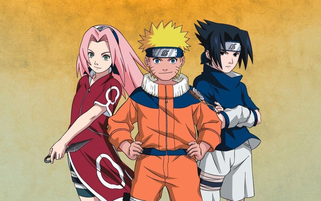 Naruto está entre as opções da subcategoria Animes de Ação.